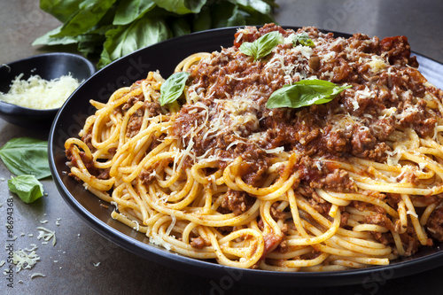 Fotografie, Obraz  Spaghetti Bolognese