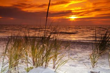 Obraz na SzkleZachód słońca