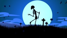 A Scary Night On The Graveyard...