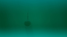Military Submarine In Motion. Underwater Naval Transportation Technology. HD