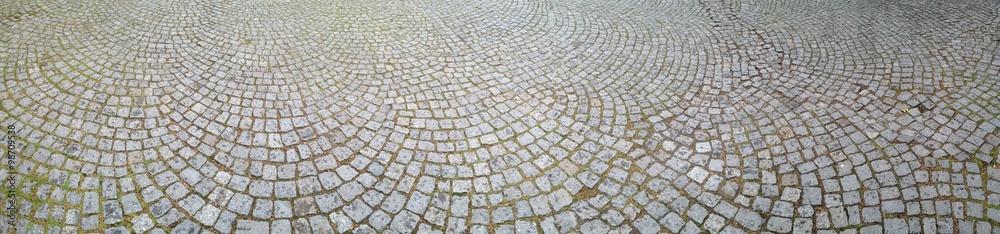 Fototapety, obrazy: Cobblestone Walkway