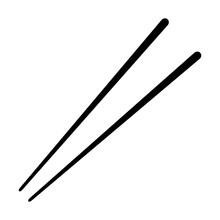 Chopsticks Flat Icon For Food ...