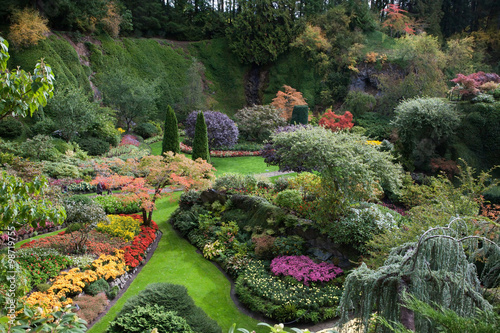 Fotobehang Tuin Butchart Gardens on Canada