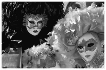 Panel Szklany Podświetlane Wenecja Karneval Venedig