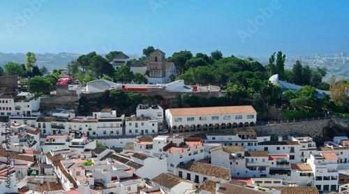 Fotografie, Obraz Mijas, panorámica, pueblo, Málaga, Andalucía