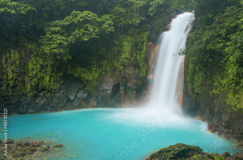 Tuinposter Watervallen Waterfall Spray