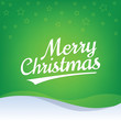 Vector Merry Christmas lettering. Happy christmas logo. Greeting card template.