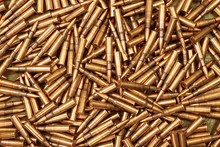 Ammo To Machine Guns As Background