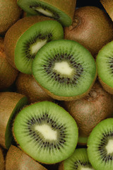 Naklejka Kiwi - (Aktinidia) - owoc