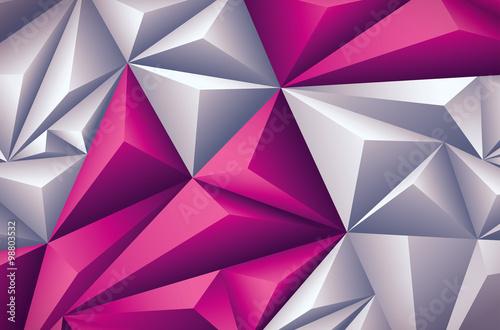 trojwymiarowe-tlo-w-rozowych-odcieniach-z-trojkatami