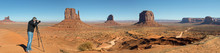 Photographer At The Monument Valley