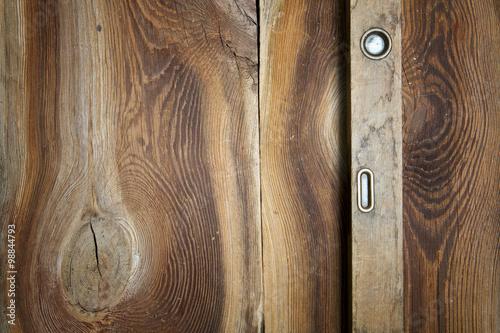 Obraz Stare narzędzia na drewnianym tle - fototapety do salonu