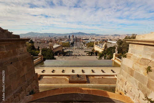 Photo  BARCELONA - April 10 2013 : View of Camp Nou stadium before the