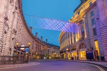 Regent Street On Christmas Mor...