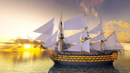 Fototapeta Żagle 帆船