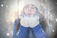 Winter Girl Snowball