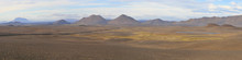 Moonscape In The Iceland Highl...