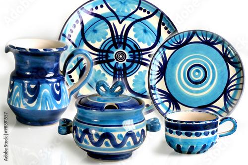Fotografie, Obraz  piatti di ceramica