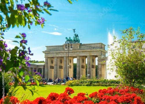 Keuken foto achterwand Berlijn Porte de Brandebourg, Brandenburg Gate, Brandenburger Tor, Berlin, Germany