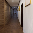 Interior of a corridor of hotel^ hospital and so on