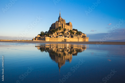 Fotografie, Obraz  Mont saint michel in france