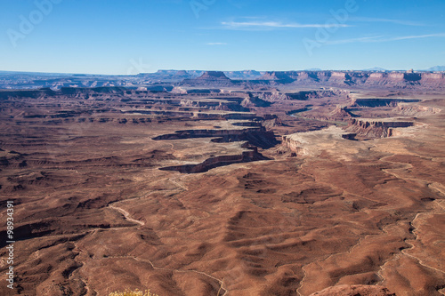 Fotografie, Obraz  Utah-Canyonlands National Park-Island in the Sky District-View From Grandview Tr