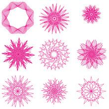 Geometric Circular Ornaments