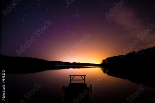 Photo Nachthimmel am Wolgastsee, Insel Usedom