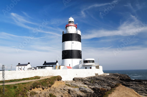 Lighthouse at Hook head in Ireland