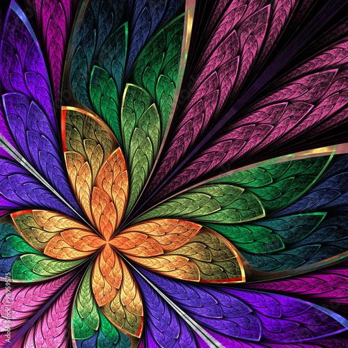 piekny-kolorowy-abstrakcyjny-motyl