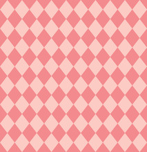 Vintage Pattern Background With Rhombus