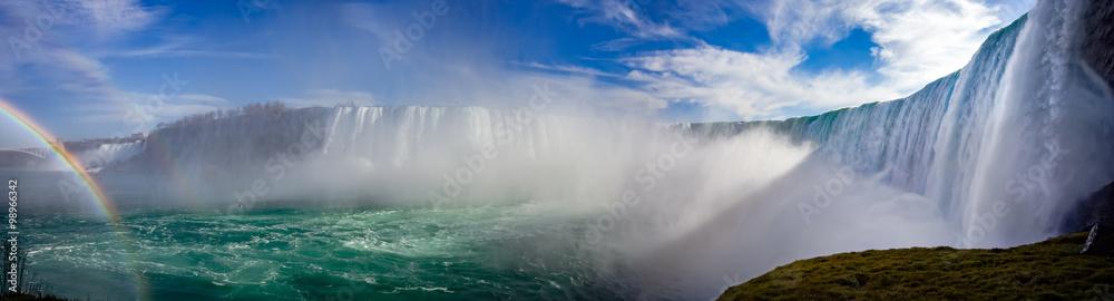 Fototapety, obrazy: Niagara panorama