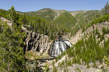 Gibbon Falls - Yellowstone Nat...