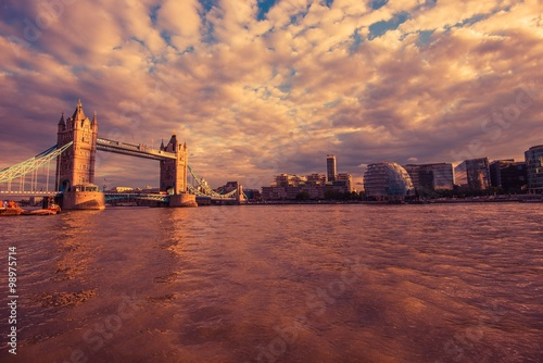 Photographie  London River Thames