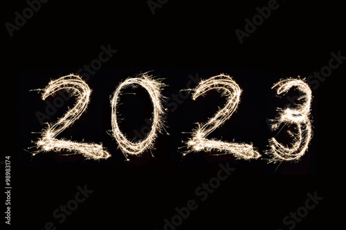 Poster  2023 Written with Fireworks