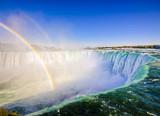 Fototapeta Tęcza - Niagara Falls and rainbow