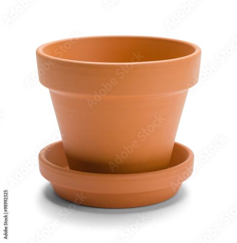 Fotografie, Obraz  Empty Orange Pot
