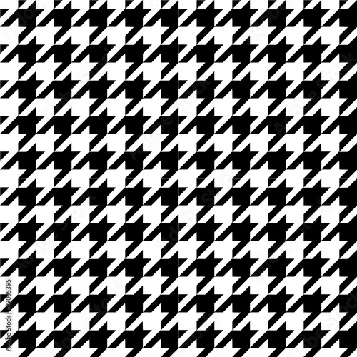 Photo  Houndstooth pattern