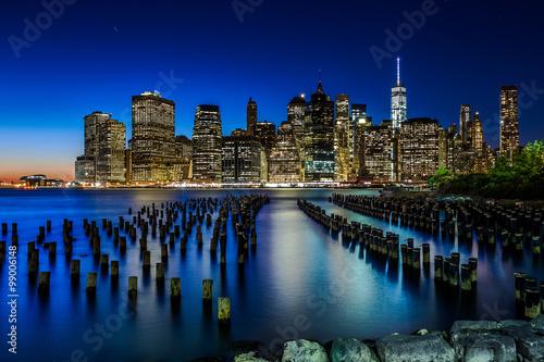 Canvas Prints Manhattan skyline