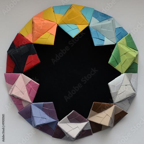 origami Wallpaper Mural