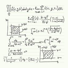 Vector Pattern With Mathematic...