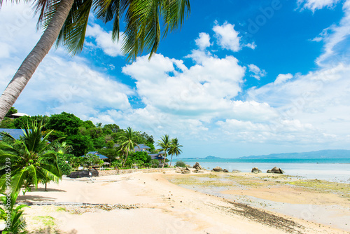 Poster Strand Beautiful island in Thailand