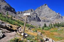 Colorado 14er, Crestone Needle, In The Sangre De Cristo Range, Rocky Mountains