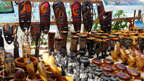 Foto op Plexiglas Caraïben Shopping in Grand Turk in the Turks and Caicos Islands