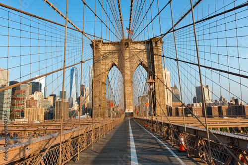 Keuken foto achterwand Bruggen New York City from Brooklyn Bridge