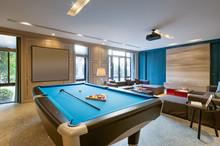 Interior Of Luxury Recreation ...