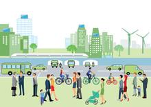 Saubere Luft In Der Stadt