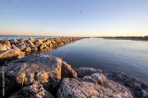 Summer On The Great Lakes Coast Fototapet