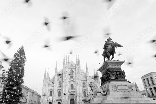 Spoed Foto op Canvas Monument Milan Cathedral_Duomo di Milano