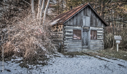 Historical Pioneer Log Cabin Historical Log Cabin In The Woods